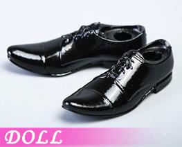 DL4847 1/12 Men's leather Shoes A (DOLL)