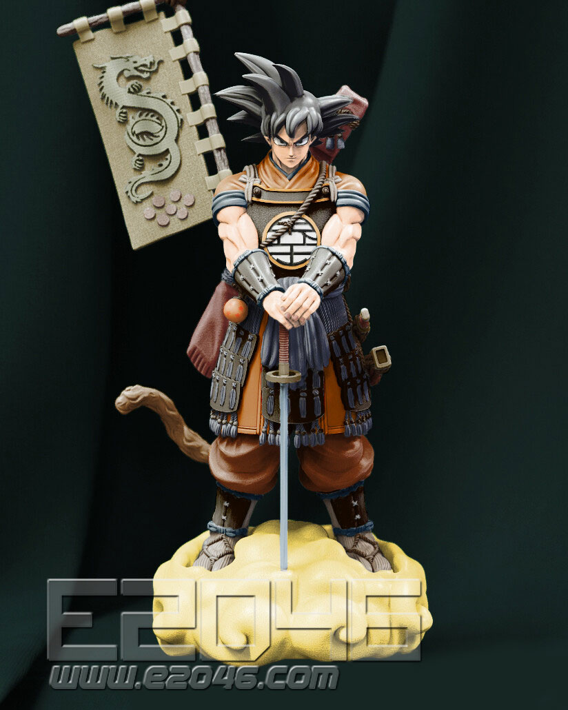Son Goku Samurai Version (Pre-painted)