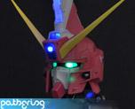 PR1792 1/35 Justice Gundam Bust (Pre-painted)