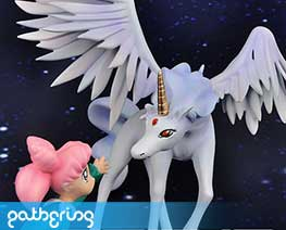 PF5169 1/10 Chibiusa and Pegasus (Pre-painted)