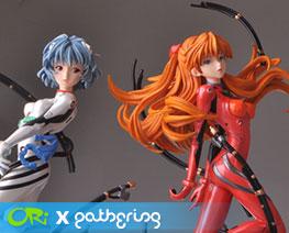 PF8174 1/6 Rei Ayanami & Asuka (Pre-painted)