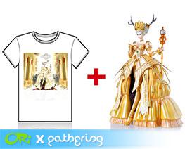 PF8417 1/6 雪精灵皇后连 T-Shirt 套装 (涂装完成品)