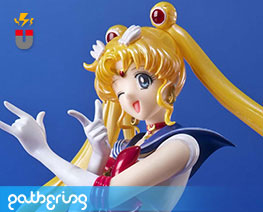 PF12525  Sailor Moon (Pre-painted)