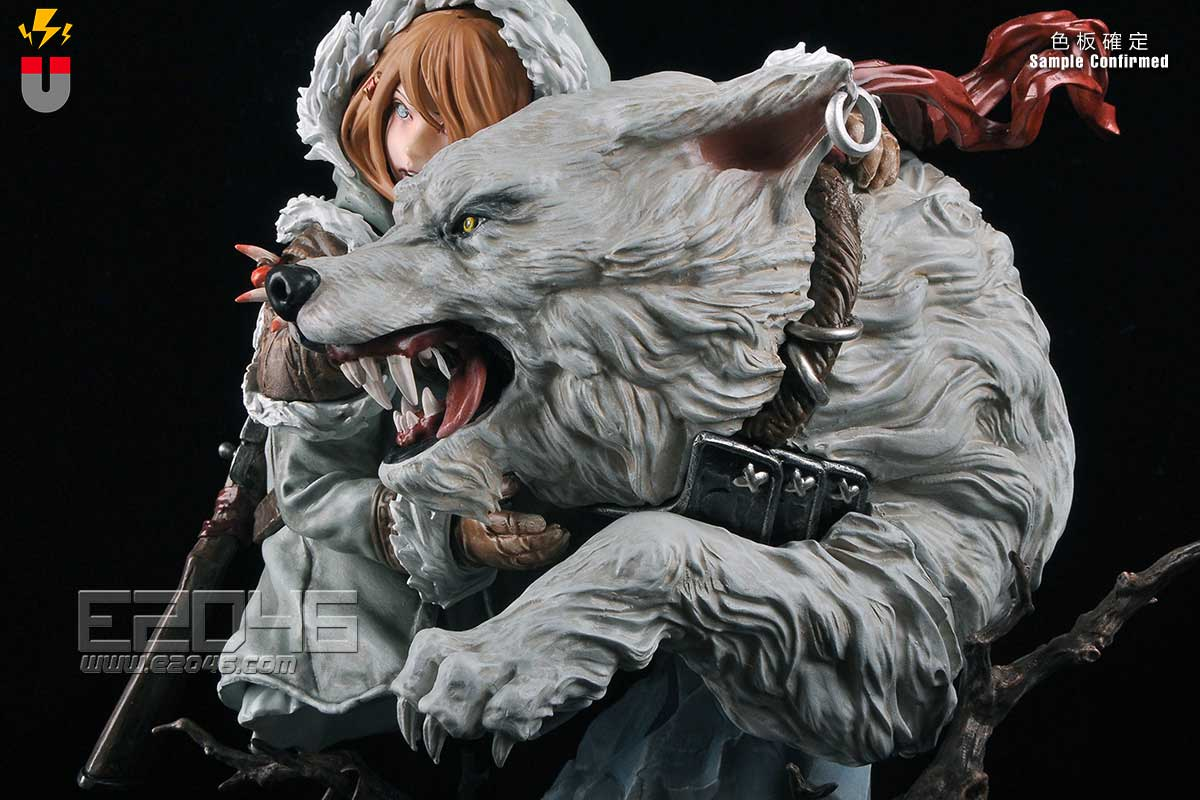 Wolf & Girl (Pre-painted)