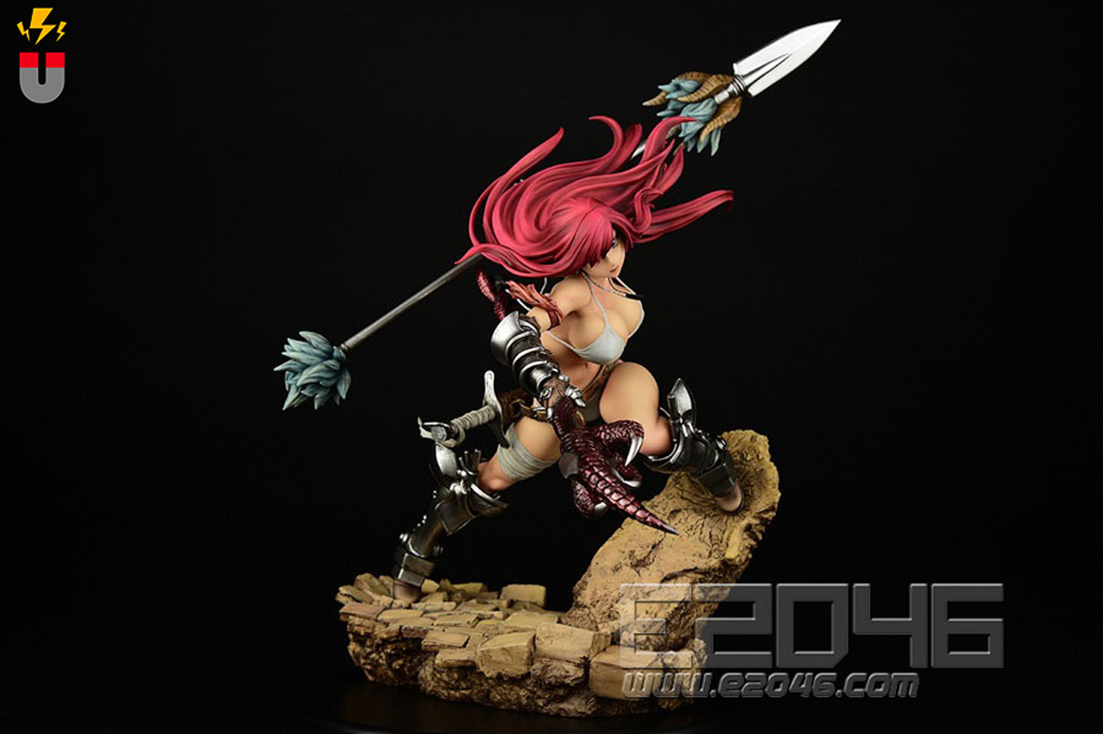 Erza Scarlet The Knight Version (Pre-painted)