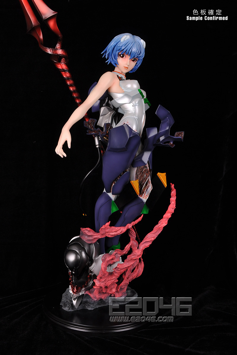 Rei Ayanami With Longinus (Pre-painted)