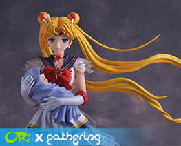 PF8990 1/6 Super Sailor Moon with Baby Hotaru (Pre-painted)