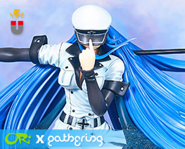 PF10782 1/6 Esdeath (Pre-painted)