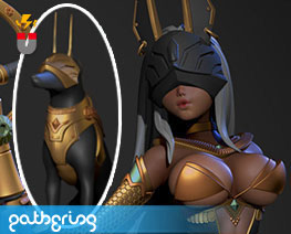 PF12849 1/6 Anubis (Pre-Painted)