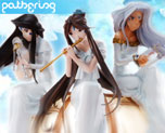 PF5204 1/5 Belldandy, Urd and Skuld (Pre-painted)