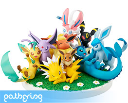 PR3267  Eevee Friends (Pre-painted)
