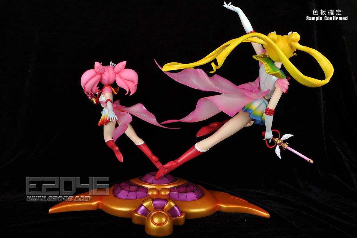 Super Sailor Moon and Chibi Moon Special Version (Pre-painted)
