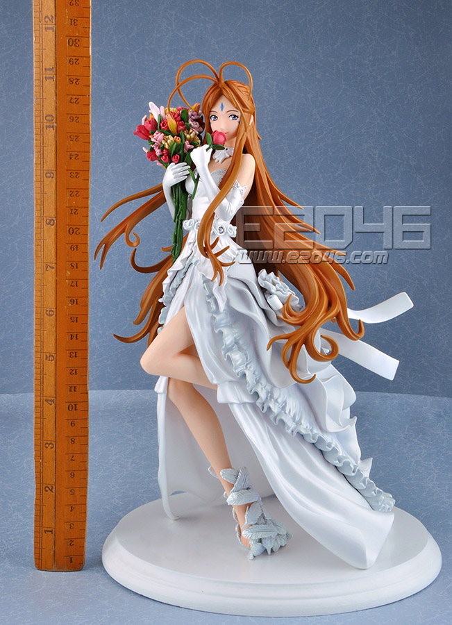 Belldandy with Wedding Dress (Pre-painted)