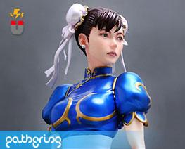 PF11377 1/8 Chun Li (Pre-painted)