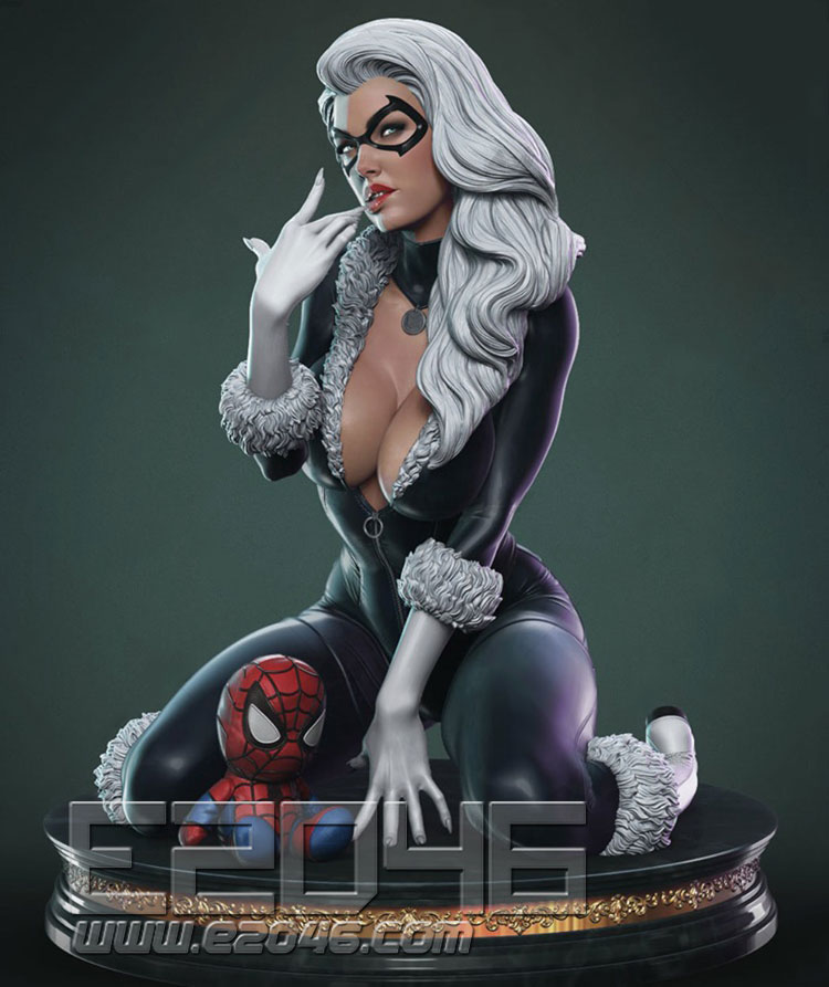 Black Cat (Pre-painted)