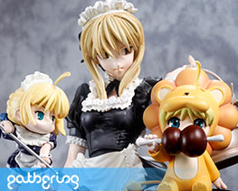 PF5723  Saber Maid & SD (Pre-painted)